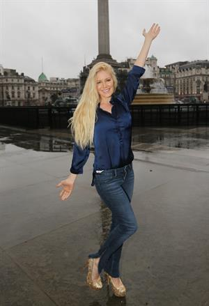 Heidi Montag Visiting London on January 3, 2013