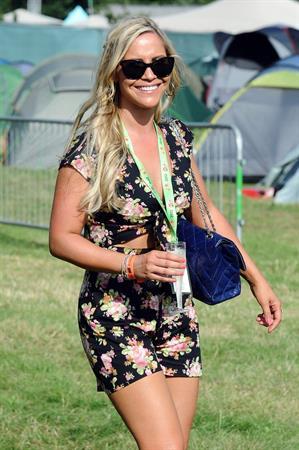Heidi Range - V Festival at Hylands Park in Chelsmford - August 18, 2012