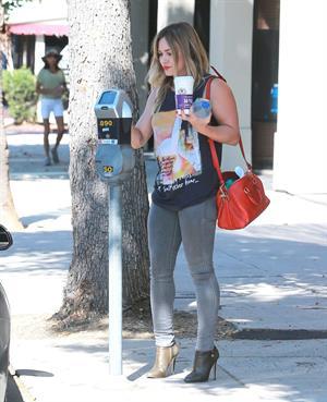 Hilary Duff in Sherman Oaks 9/16/13
