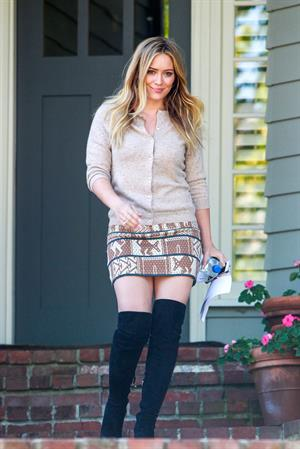 Hilary Duff in Beverly Hills 10/10/13