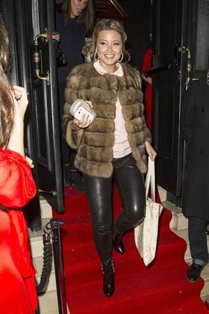 Holly Valance The Brompton Club in London - October 18, 2012
