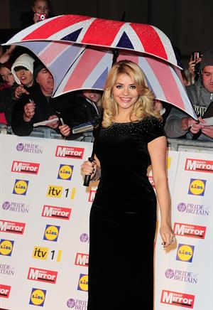 Holly Willoughby Pride Of Britain Awards, London - October 29, 2012