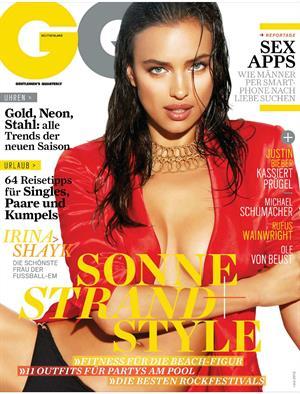 Irina Shayk GQ Magazine Germany July 2012