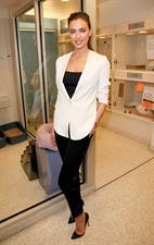 Irina Shayk ASPCA's Adoption Center in NYC December 14, 2012