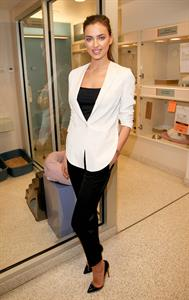 Irina Shayk ASPCA's Adoption Center in NYC December 14, 2012