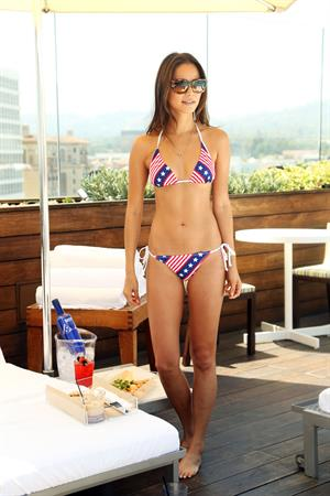 Jamie Chung SKYY Vodka American Beauty Bottle and Bikini Photoshoot, June 18, 2013