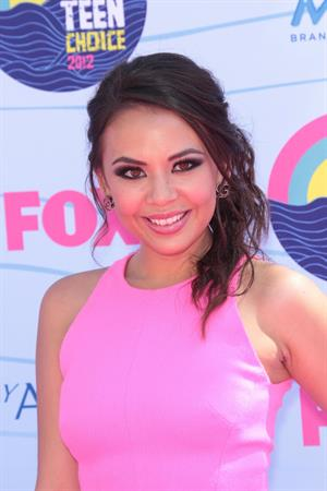 Janel Parrish - 2012 Teen Choice Awards in Universal City (July 22, 2012)