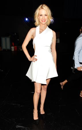 January Jones espy awards at Nokia Theatre in Los Angeles Live on July 14, 2010