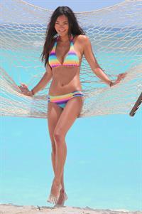 Jarah Mariano. St. Barts Victorias Secret bikini shoot St. Barts. August 11th, 2012