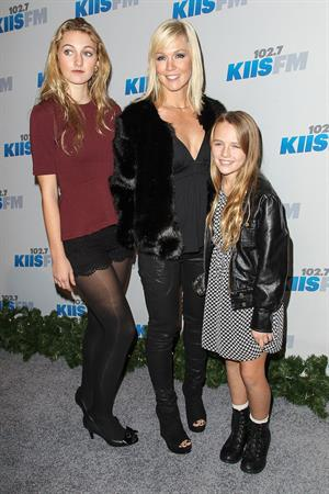 Jennie Garth KIIS FM's Jingle Ball 2012 - Night 1 (Dec 1, 2012)