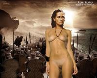 Lena Headey - pussy and nipples
