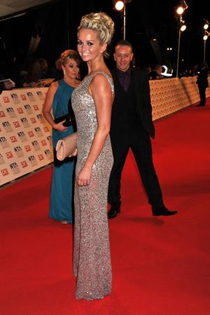 Jennifer Ellison National Television Awards on January 25, 2012