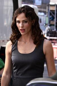 Jennifer Garner Arthur Movie set on August 27, 2010