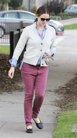 Jennifer Garner - Spotted in Los Angeles on January 30, 2013