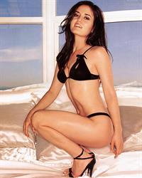 Danica McKellar in a bikini