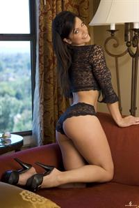 Denise Milani in lingerie - ass