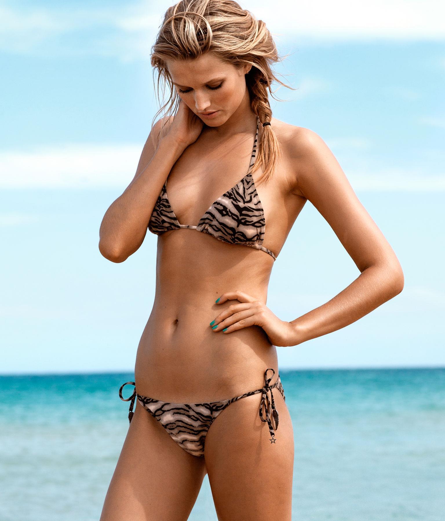 Toni Garrn in a bikini