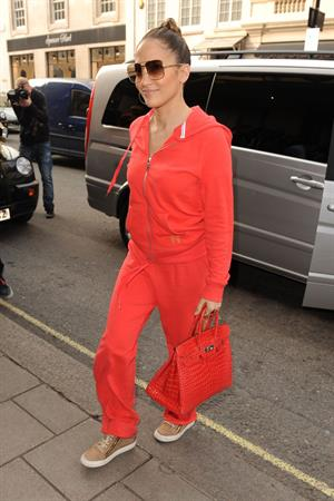 Jennifer Lopez Out in London 24th October 2012