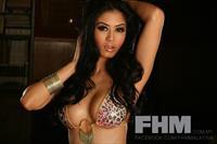 Kim Lee in lingerie
