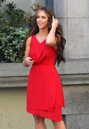 Jennifer Love Hewitt Set of ''The Client List'' in Downtown LA October 26, 2012