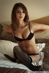 Aspen Martin in lingerie