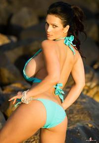 Bikini Denise Milani In A