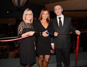 Jessica Ennis Genting Casino - October 4, 2012