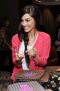 Jessica Lowndes Access Hollywood Stuff You Must Lounge on January 15, 2011