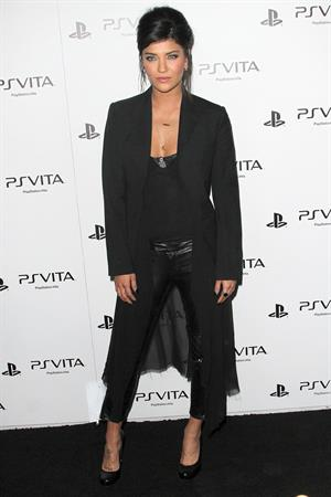 Jessica Szohr Sony PS Vita Launch on February 15, 2012