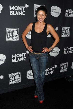 Jessica Szohr attends Montblanc presents the 24 Hour Plays in Los Angeles on June 16, 2012