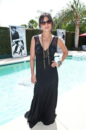 Jessica Szohr attending the Guess Hotel and Lovecat Magazine Party on April 13, 2012