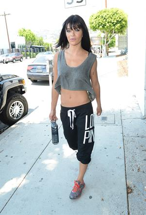 Jessica Szohr - Cycle House in West Hollywood  -  August 20, 2012