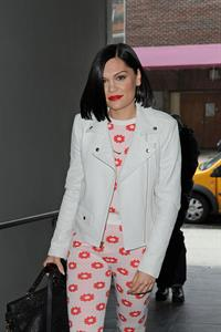 Jessie J in New York City on February 28, 2013