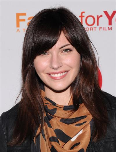 Jill Flint Target's  Falling For You  Premiere, 10 Oct 2012