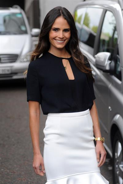 Jordana Brewster - Leaving ITV Studios, London - August 20, 2012