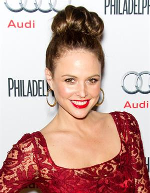 Josie Maran Philadelphia Style magazine holiday issue party - 12/11/12