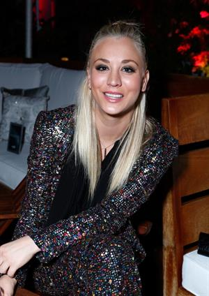 Kaley Cuoco Attends the Voli Light Vodka Benefit at SkyBar Mondrian in LA 06.12.12