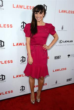 Karina Smirnoff - 'Lawless' Premiere at ArcLight Cinemas in Hollywood - August 22, 2012