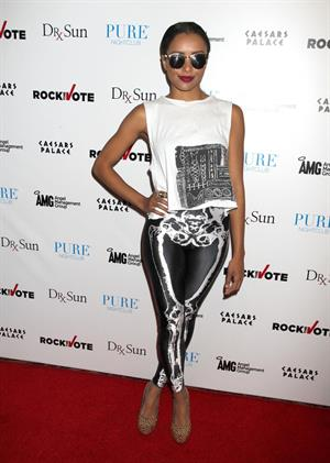 Katerina Graham - PURE Nightclub (Arrival) in Las Vegas (June 26, 2012)