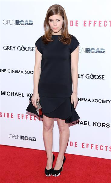 Kate Mara  Side Effects  Premiere, Jan 31, 2013