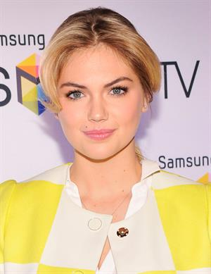 Kate Upton Samsung's Television Line Launch Event in New York City on March 20, 2013