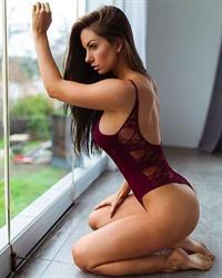 Janna Breslin in a bikini
