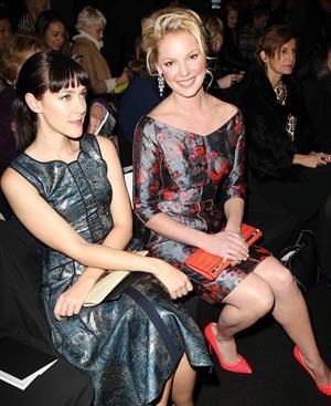 Katherine Heigl REVLON Sponsors J Mendel for NY Fashion Week Fall/Winter 2013 February 13, 2013