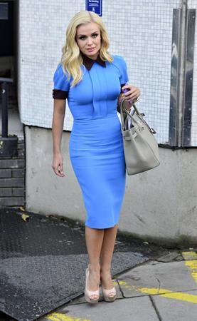 Katherine Jenkins ITV Studios, January 31, 2013