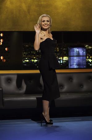 Katherine Jenkins Jonathan Ross Show in London - November 10, 2012