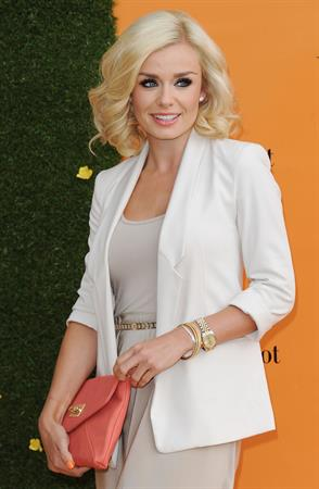 Katherine Jenkins - Veuve Clicquot Gold Cup Final at Cowdray Park Polo Club in Midhurst, England - July 15, 2012