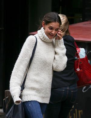 Katie Holmes in Soho, New York City - September 18, 2012