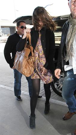 Keira Knightley At LAX Airport - November 10, 2012