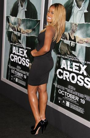 Keke Palmer Alex Cross premiere Arclight Cinemas Hollywood 10/16/12