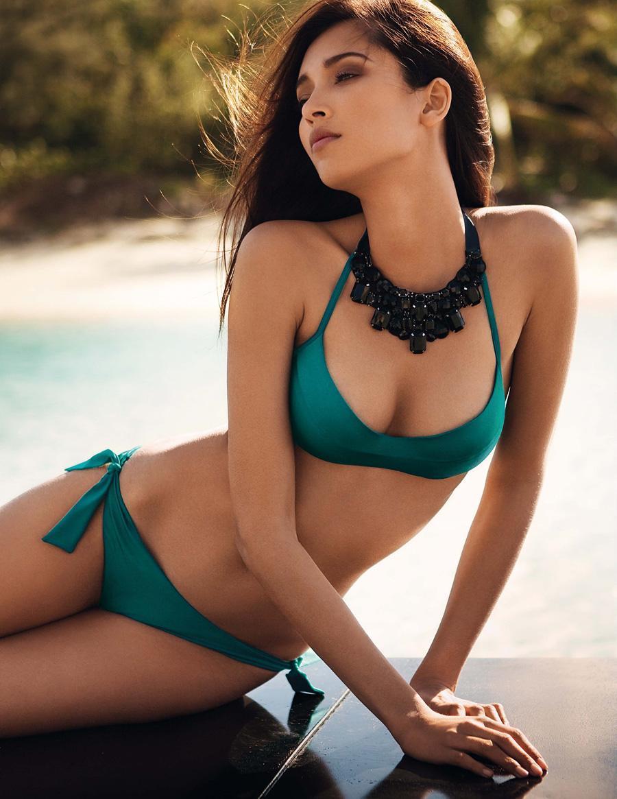 Daniela De Jesus Cosio in a bikini